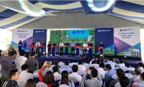 Khánh thành nhà máy nước sạch lớn nhất Đồng bằng Sông Cửu Long