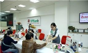 VPBank báo lãi 1.900 tỷ đồng trong Quý 1/2019