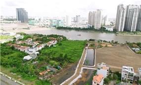 Đấu giá đất ở Thủ Thiêm: Giá thấp hơn khu vực lân cận hàng chục lần?