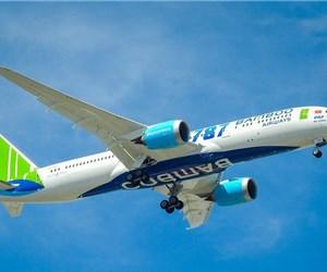Lộ hình ảnh chiếc 787-9 Dreamliner thứ 2 của Bamboo Airways