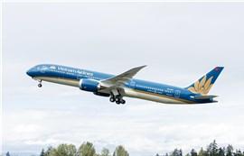 Vietnam Airlines dùng tàu bay Boeing 787 chở khách giữa Việt Nam và Đài Loan