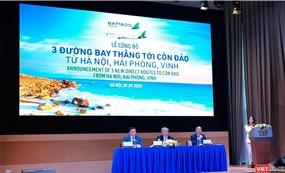 Toan tính của Bamboo Airways khi mở đường bay thẳng đến Côn Đảo
