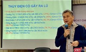 Chuyên gia thuỷ điện Nguyễn Tài Sơn: Đừng bài xích thuỷ điện nhỏ!