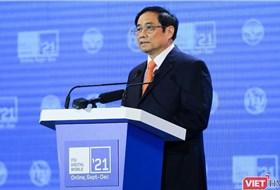Thủ tướng Phạm Minh Chính: Người dân là trung tâm của chuyển đổi số