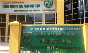 Công tác tổ chức lựa chọn nhà thầu tại ĐH Y khoa Phạm Ngọc Thạch